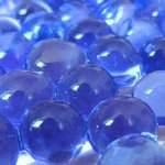 Гидрогель синий, шарики