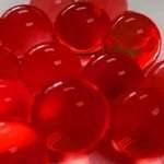 Гидрогель красный, шарики