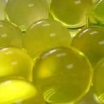 Гидрогель желтый, шарики